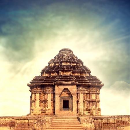 temple of sun god Stock Photo