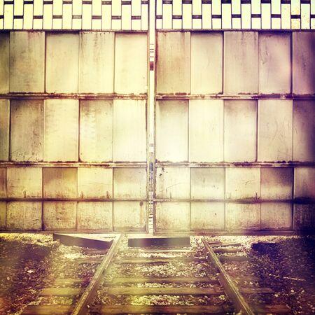 deadlock: Vintage  background Stock Photo