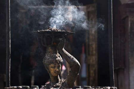 hinduist: Hindu religion in Nepal Stock Photo