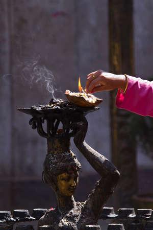 Hindu religion in Nepal photo