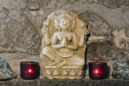 hinduist: hindu stone carving, ancient handicraft from Thailand