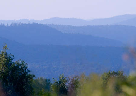 jura: monochrome on Jura mountains, France