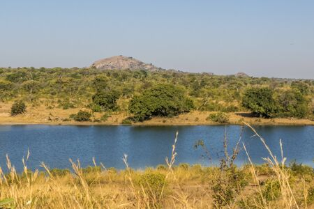 landscape of Kruger Park, South Africa