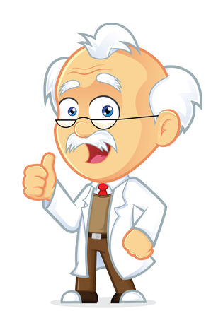 Professor Giving Thumbs Up