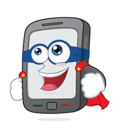 Super smartphone Vector