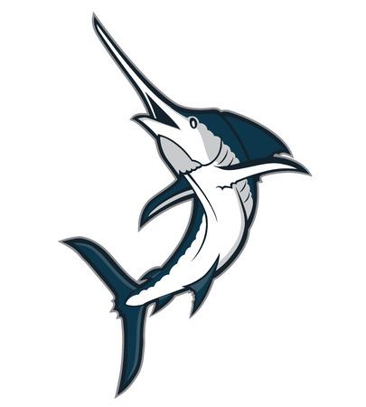marline: Marlin fish mascot