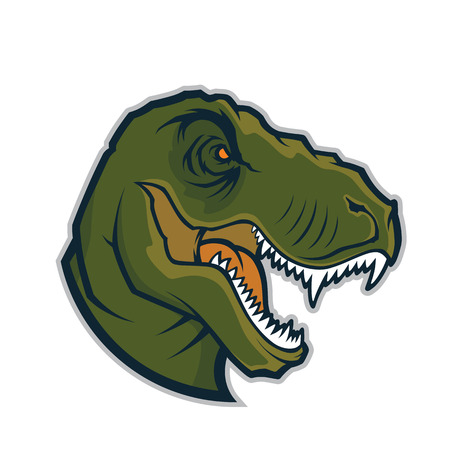 raptor: Raptor head mascot