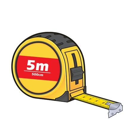 Tape measure Illustration