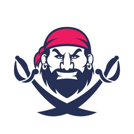 personas enojadas: pista de la mascota del pirata