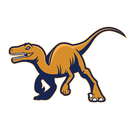 Raptor mascot 2
