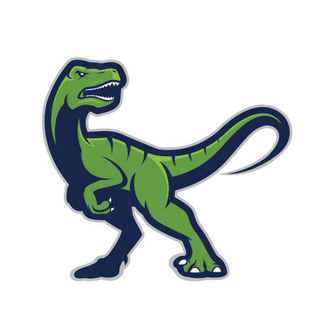 Mascota de Raptor Foto de archivo - 82807015