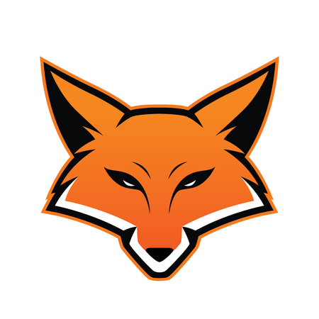 Fox head mascot Vectores