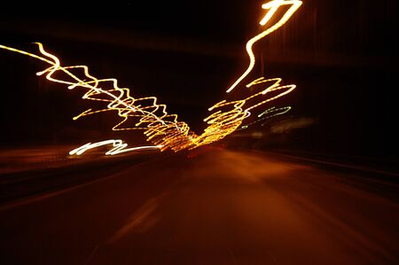 The speed of light Stock Photo - 9092787