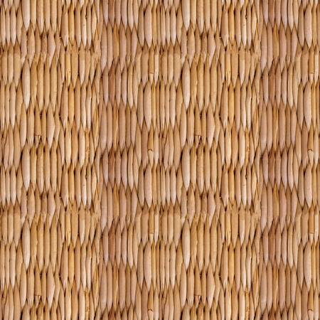 Abstract seamless pattern for designers with old dry basket from thatch