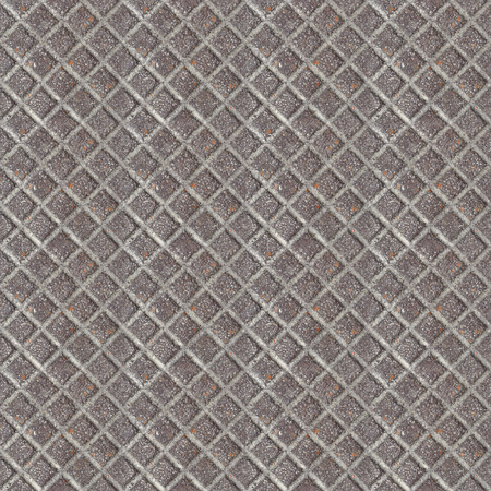 Abstract seamless pattern for designers with little metal blocks from steel door