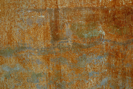 Abstract image texture for designers with old metal wall with area for advertisement Stock Photo