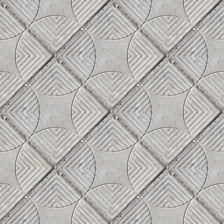 Resumen de patrones sin fisuras para diseñadores con calzada de hormigón Foto de archivo