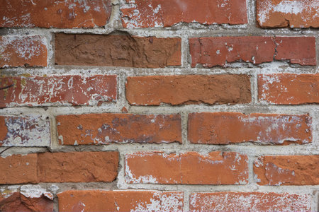 Background photo for design with red bricks