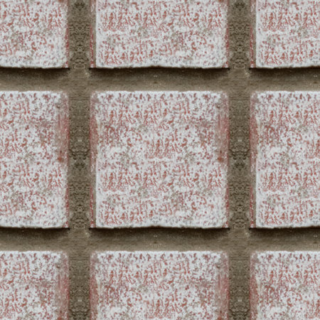 Patrón sin fisuras con fragmento de pared de ladrillo para diseño o pintura mate