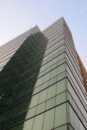 gurgaon: Tall skyscrapper in Gaurgaon, India