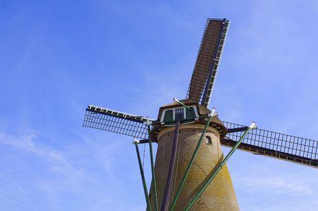 holand: Windmill at Kaag near Amsterdam, Netherland