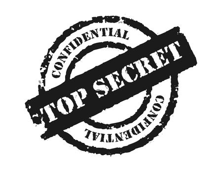 An effective to show the something is confidential