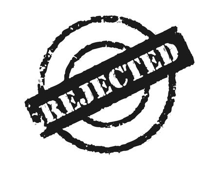 An effective to show the rejection of something. Stock Photo