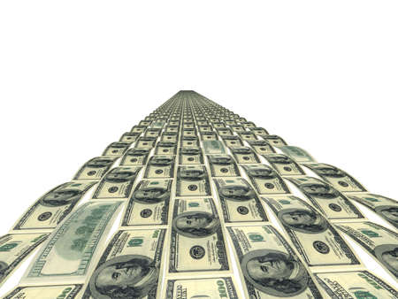 greenbacks: The Road painted into image of dollars