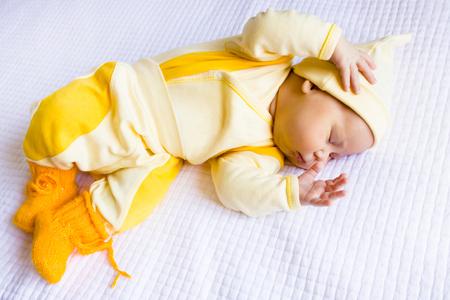 sleeps: Baby sleeps peacefully Stock Photo