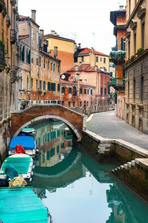 venice bridge: canals of Venice, murano, burano Stock Photo