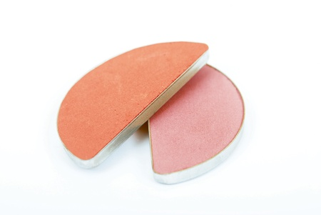 ceremonial make up: Cosmetic dust compact