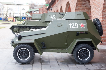 armored car: Russian armored car