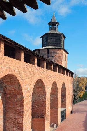 nizhny novgorod: Nizhny Novgorod Kremlin Stock Photo