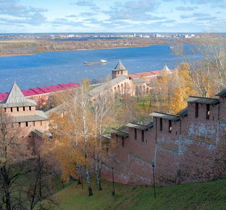 novgorod: Nizhny Novgorod Kremlin Stock Photo