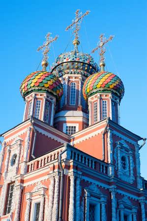 dome type: Christmas temple Nizhny Novgorod