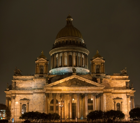 St. Isaac's Cathedral in Saint-Petersburg, Russia. Stock Photo - 23839978