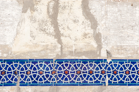 Ancient Islam wall decoration Stock Photo