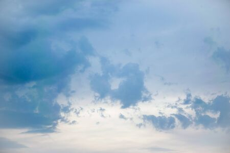 Cloudy sky background Stock Photo