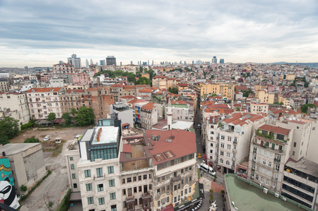 bosporus: Beautiful Istanbul cityscape Editorial