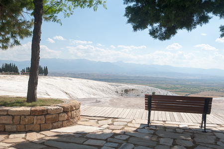 Ancient Cleopatra source water in Pamukkale