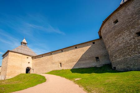 leningradskaya: Ancient fortress in Staraya Ladoga