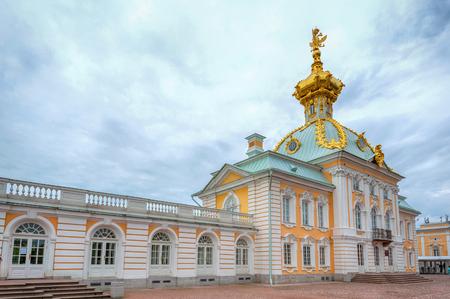 diplomatic: Special Treasury museum of jewels and imperial treasures in Peterhof in Saint Petersburg, Russia