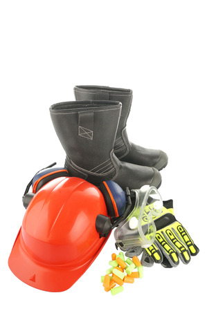 A set of personal protective equipment for industrial use  photo