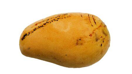 Bad mango on a white background