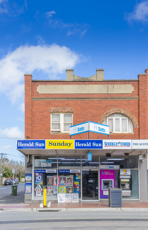 general store: Melbourne, Australia - August 30, 2015: General store in Melbourne during daytime.