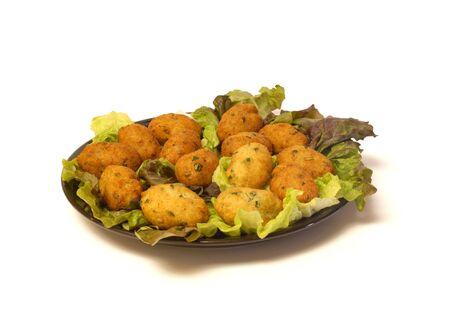 Codfish Croquettes 版權商用圖片 - 3449922