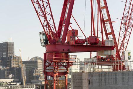 London City construction site overview Goldman Sachs HQ