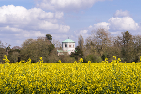A church nestled in the beautiful countryside, Windsor, England