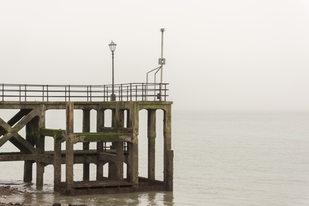 Old unused pier, Portsmouth, Hampshire