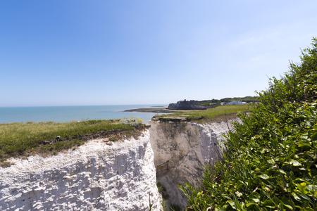 White cliffs in botany bay Stock Photo